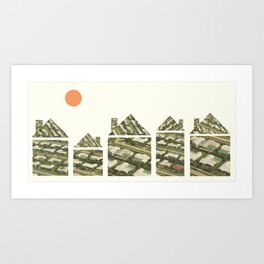 Home (alt.) Art Print