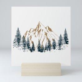 mountain # 4 Mini Art Print