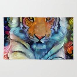 Painted Tiger Rug