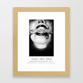 dark things 9 Framed Art Print
