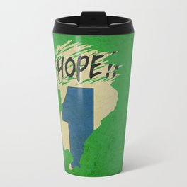 Hope!! (time machine ) Travel Mug