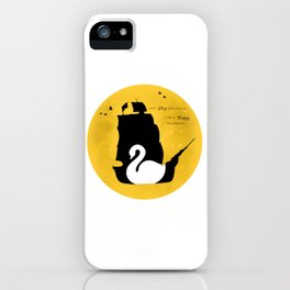 CAPTAIN SWAN (Yellow) iPhone Case