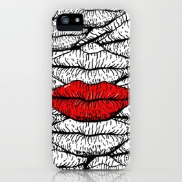 A Bunch of Kisses iPhone Case