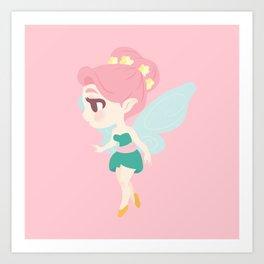 Cute Fairy Art Print