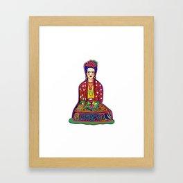 Frida Love Framed Art Print