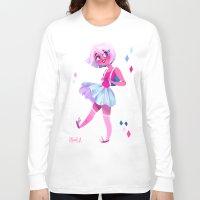 bubblegum Long Sleeve T-shirts featuring Bubblegum by Anoosha Syed