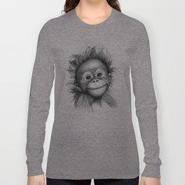 Monkey - Baby Orang outan 2016 G-121 Long Sleeve T-shirt