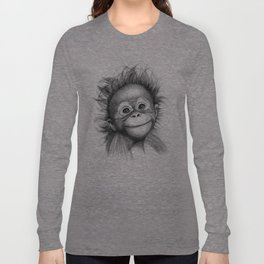 Monkey - Baby Orang outan 2016 G-121 Long Sleeve T-shirt