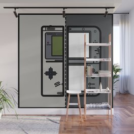 Old & New Nintendo Handheld Consoles Wall Mural