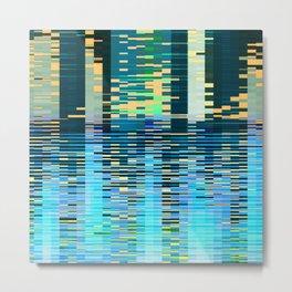 city on water Metal Print