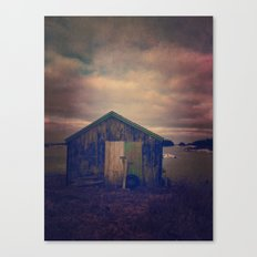 Twilight by the Sea Canvas Print