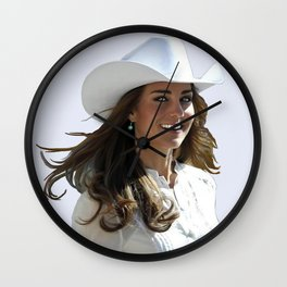 KATE MIDDLETON  Wall Clock