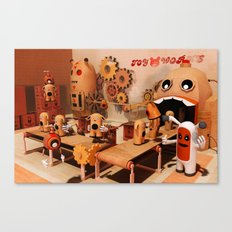Toy Works Canvas Print