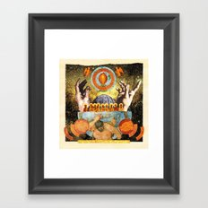A Monument to Creation Framed Art Print