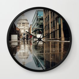 London and reflection Wall Clock