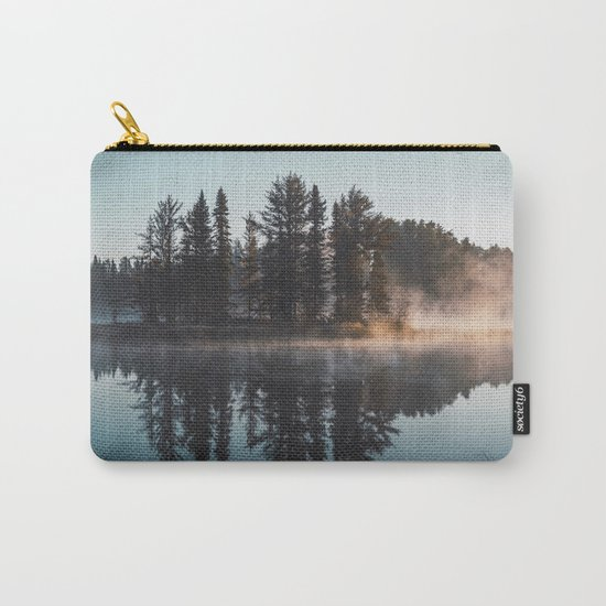 Foggy lake  #society6 Carry-All Pouch