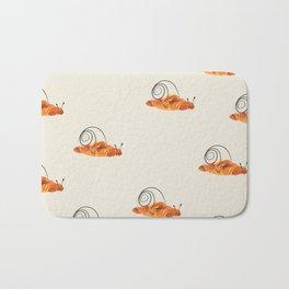 croissant snail Bath Mat