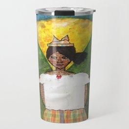 St. Lucian/Caribbean Girl Travel Mug