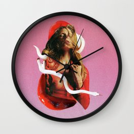 My Own Poison Wall Clock