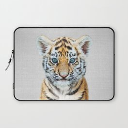 Baby Tiger - Colorful Laptop Sleeve