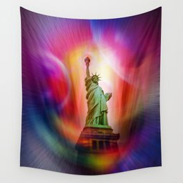 New York NYC - Statue of Liberty 2 Wall Tapestry