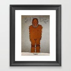 bad hair day no:4 / Bigfoot Framed Art Print