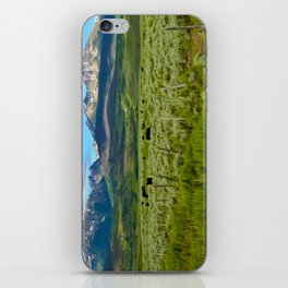 Colorado cattle ranch iPhone Skin