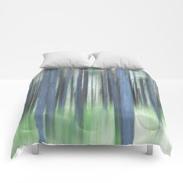 Painted Trees Comforters