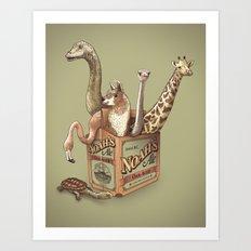 Noah's Ale Art Print