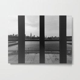 grid manhattan Metal Print