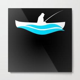 Fishing Boat Fishing Metal Print