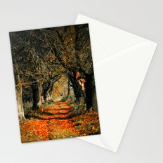 Autumn rust Stationery Cards