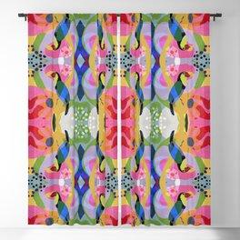 Tropical Toucan Pattern Blackout Curtain