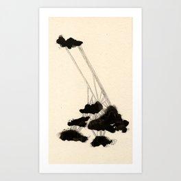 Sedate Eight Art Print