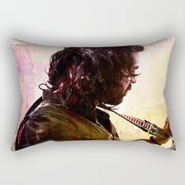 Mandolin Player Rectangular Pillow