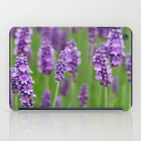 lavender iPad Cases featuring lavender by GISMANA