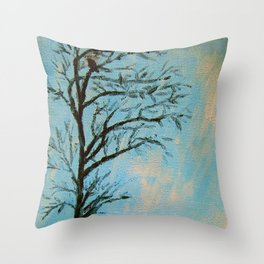 Craw Throw Pillow