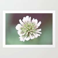 weed Art Prints featuring Weed by Sweet Little Pixels