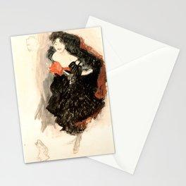 """Gustav Klimt """"Study for Judith II"""" Stationery Cards"""