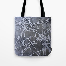 Texture #8 Ice Tote Bag