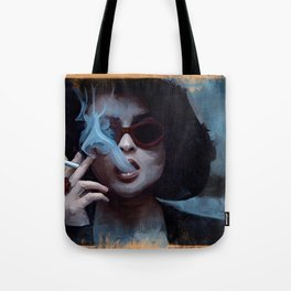 Marla Singer Smokes A Cigarette Behind Sunglasses - Fight Tote Bag