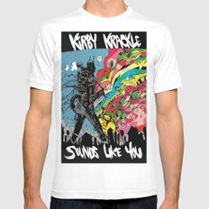Kirby Krackle - Sounds Like You - Album Art Mens Fitted Tee MEDIUM White