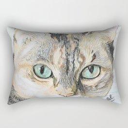 Cookie the cat Rectangular Pillow