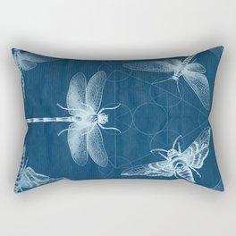 X-RAY Insect Magic Rectangular Pillow