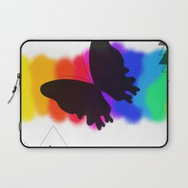 Bright Butterfly Laptop Sleeve