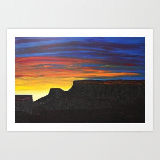 Grand Mesa Sunrise Art Print