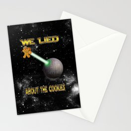 Death Cookies Stationery Cards