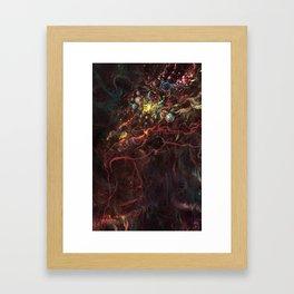 Star Eater Section II Framed Art Print