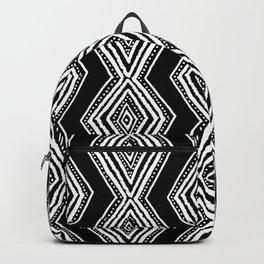 diamondback in black & white Backpack
