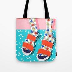 No Doi - memphis throwback retro classic style fashion 1980s 80s hipster shoes socks urban trendy Tote Bag
